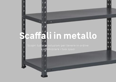 Scaffali Componibili In Metallo Prezzi.Scaffali Metallo Leroy Merlin Free Scaffali Cucina Ikea Due