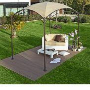Gazebo da giardino pieghevoli, in legno o in ferro: prezzi e offerte ...