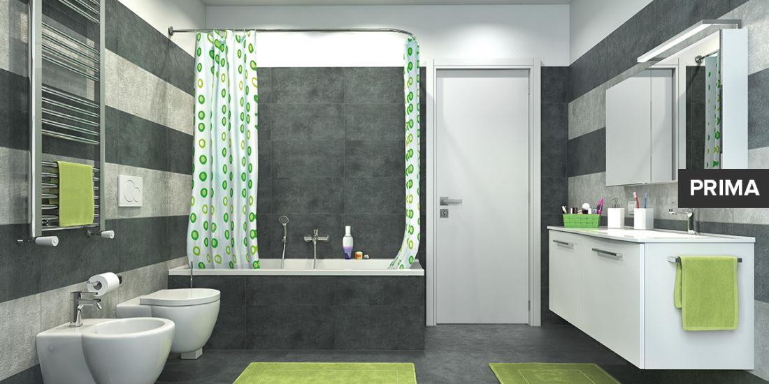 Idee per rifare il bagno ob22 pineglen for Parete vasca pieghevole leroy merlin