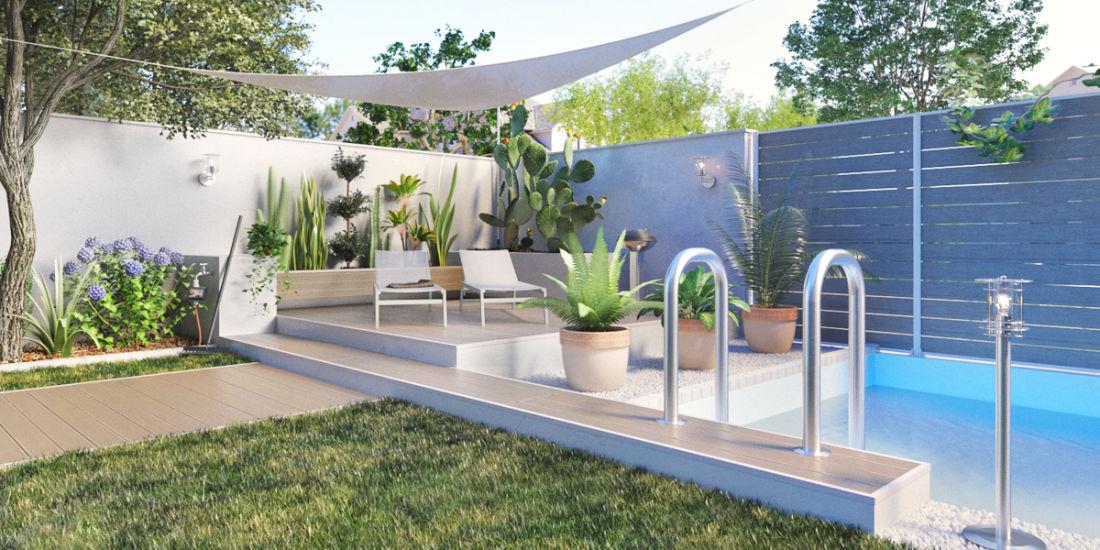 Idee per un piccolo giardino ka99 pineglen - Arredare piccolo giardino ...