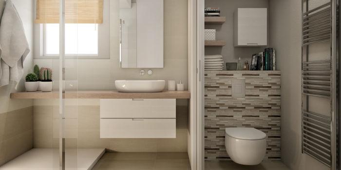 come arredare il bagno in maniera funzionale fai da te | leroy merlin - Bagni Moderni Leroy Merlin