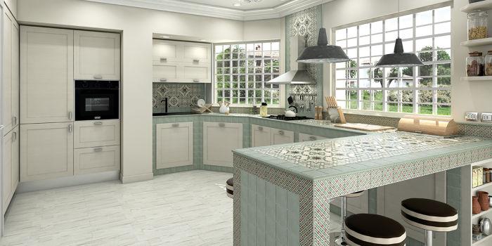 Progettare una cucina in muratura in una casa di campagna fai da te ...