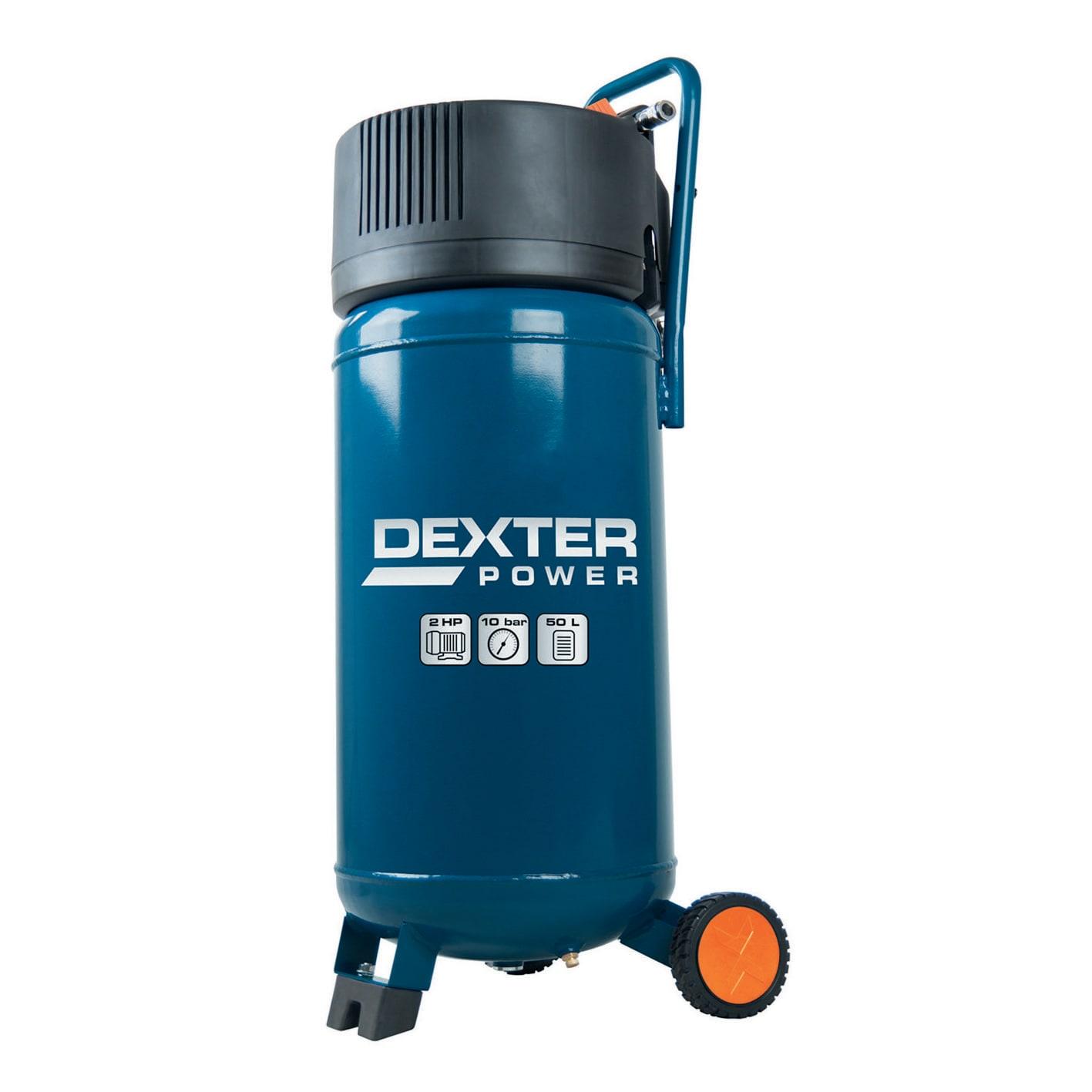 Compressore Coassiale Verticale Dexter Ac51v 2 Hp Pressione