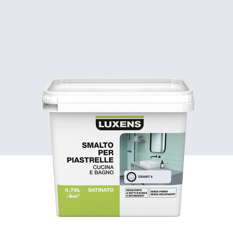 Smalto Per piastrelle Luxens Bianco Granit 6 satinato 0,75 L prezzi ...