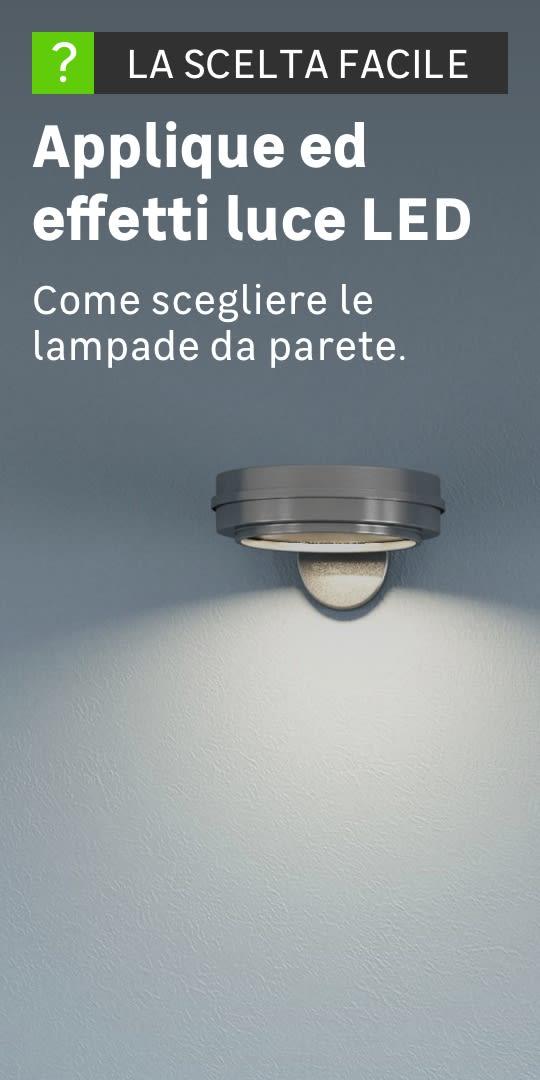 Applique ed effetti luce