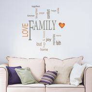 Marvelous Decorazione Sticker Words Up L Family 35536032
