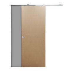 Porte scorrevoli con binario prezzi e offerte online per for Porta filo muro grezza