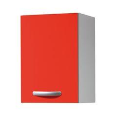 cucina pensile spring 1 anta rosso l 40 x h 579 x p