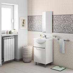 bagno mobile bagno cecile bianco l 45 cm 34068755