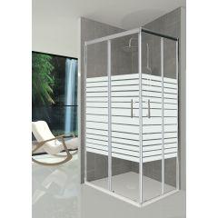 Box doccia e pareti doccia prezzi e offerte leroy merlin - Offerte cabine doccia leroy merlin ...