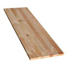 Tavola massello legno L 200 x P 48 cm grezzo: prezzi e offerte online