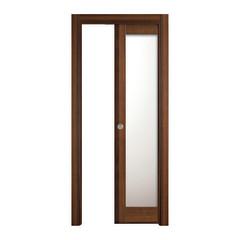 Porta da interno scorrevole vei noce 80 x h 210 cm - Misure porta scorrevole ...