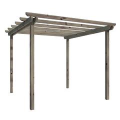 Pergole e porticati in legno prezzi e offerte - Canvas voor pergola leroy merlin ...