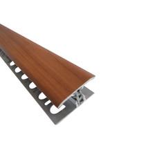 Pavimenti e rivestimenti-Profilo di giunzione ciliegio scuro L 90 cm-33798100