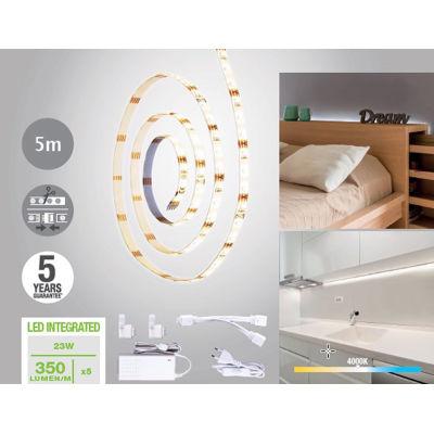 Kit striscia LED estensibile Inspire luce naturale m5: prezzi e ...
