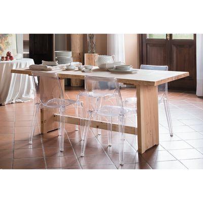 Gamba per tavolo legno L 45 x P 75 cm grezzo: prezzi e offerte online