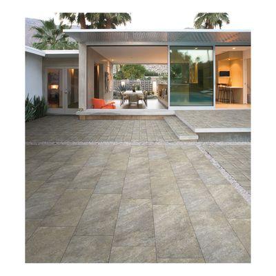 Piastrella Pietra quarzite 30 x 60,4 cm grigio, beige: prezzi e ...