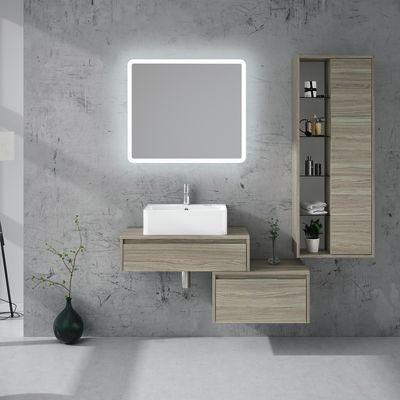 Mobile bagno Trevi olmo rousseau L 160 cm: prezzi e offerte online