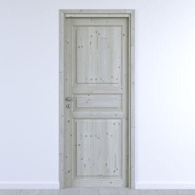Maniglia per porta con rosetta e bocchetta Gabry in alluminio ...