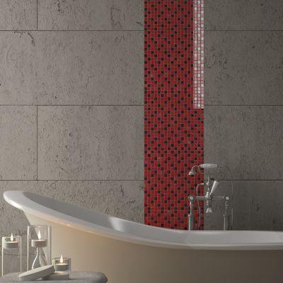 Mosaico Crystal 30 x 30 cm rosso: prezzi e offerte online