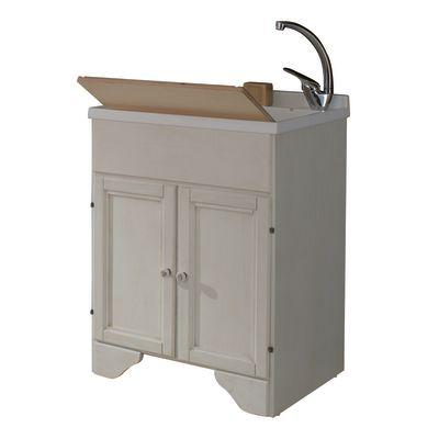 mobile lavatoio bianco l 60 x p 50 x h 84 cm: prezzi e offerte online