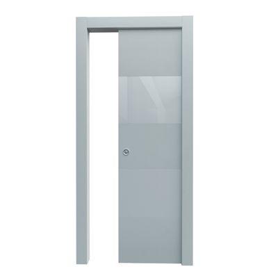 Porta da interno scorrevole Melangè bianco 70 x H 210 cm dx: prezzi ...
