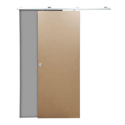 Porta da interno scorrevole Practical filomuro grezzo 80 x H 210 ...