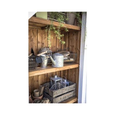 Casetta in legno grezzo Serra Vertigo 7,39 m²: prezzi e offerte online