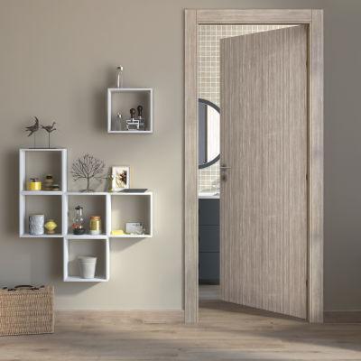 Porta da interno battente Cedar sabbia 60 x H 210 cm reversibile ...