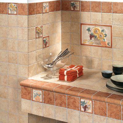Piastrelle Per Cucina In Muratura 10x10. Beautiful Cucina Bicottura ...