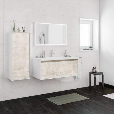 Mobile bagno Venus bianco vintage L 100 cm: prezzi e offerte online