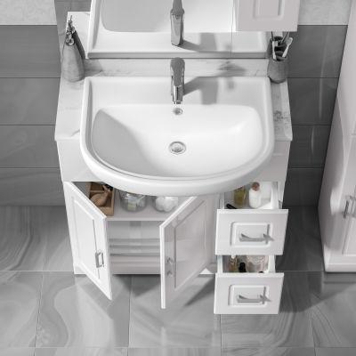 Mobile bagno Paola bianco L 81 cm: prezzi e offerte online