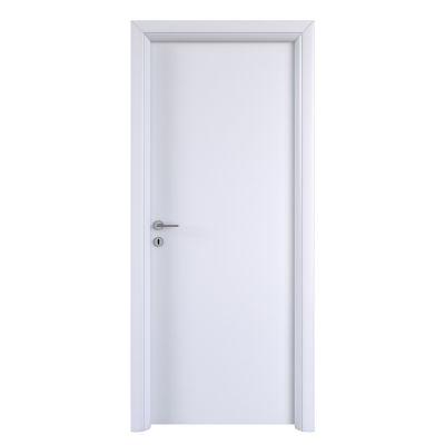 Porta da interno battente pearl bianco 80 x h 210 cm for Porta pellet da interno