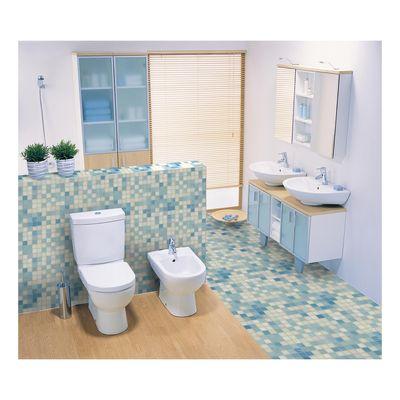 Mosaico Soft sky 32,7 x 32,7 cm blu, bianco, azzurro: prezzi e ...