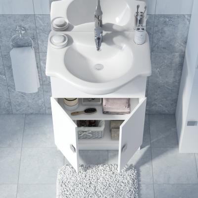 mobile bagno super bianco l 65 cm: prezzi e offerte online - Offerte Arredo Bagno Leroy Merlin
