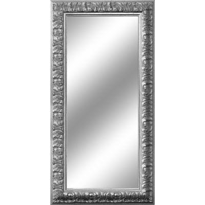 specchio da parete rettangolare Barocco argento 65 x 165 cm: prezzi ...