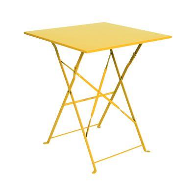 Tavolo pieghevole Color, 60 x 60 cm giallo: prezzi e offerte online
