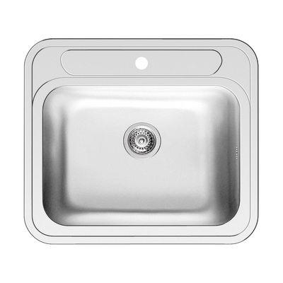 Lavello incasso Kubo L 58 x P 51 cm 1 vasca: prezzi e offerte online