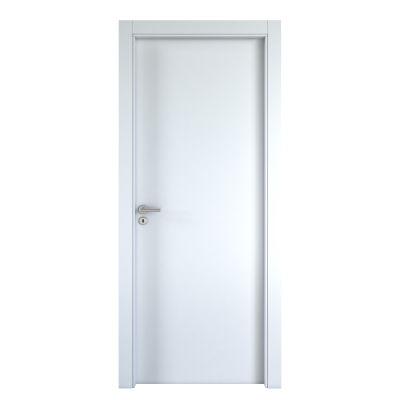 Porta da interno battente Cream bianco 80 x H 200 cm reversibile ...