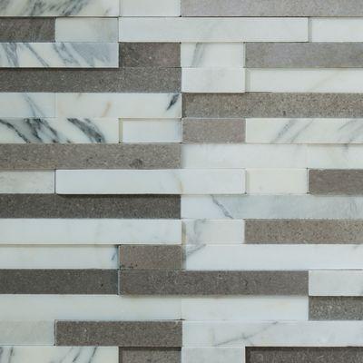 Mosaico prospect 30 x 30 cm grigio prezzi e offerte online for Piastrelle cucina ondulate