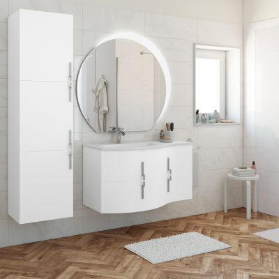 Mobile bagno Sting bianco L 104 cm: prezzi e offerte online