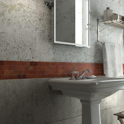Mosaico Rettangolo cotto naturale 27 x 27 cm rosso: prezzi e offerte ...
