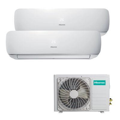 Great Stufe, Climatizzatori E Idraulica Climatizzatore Fisso Inverter Dualsplit  Hisense Mini Apple Pie 2.5 +