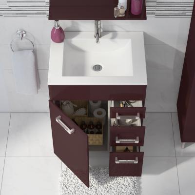 Mobile bagno Opale melanzana L 60 cm: prezzi e offerte online