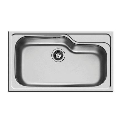 Lavello incasso Titan L 86 x P 50 cm 1 vasca: prezzi e offerte online
