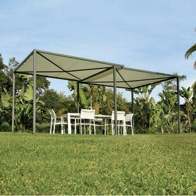 Pergola Kiki copertura grigia 5,6 x 2,9 m: prezzi e offerte online