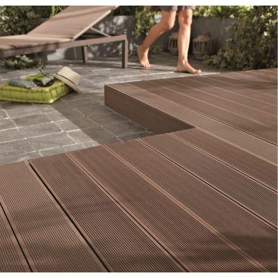 Listone kyoto 14 5 x 220 cm x 21 mm marrone prezzi e - Listoni legno per esterno prezzi ...