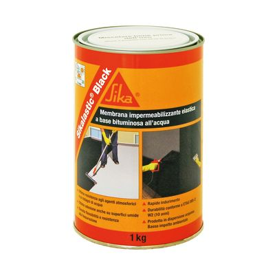 Membrana liquida bituminosa Sikalastic® Black Sika 1 kg: prezzi e ...
