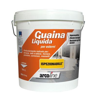 Impermeabilizzante tetti, terrazze, coperture Guaina Liquida rosso ...