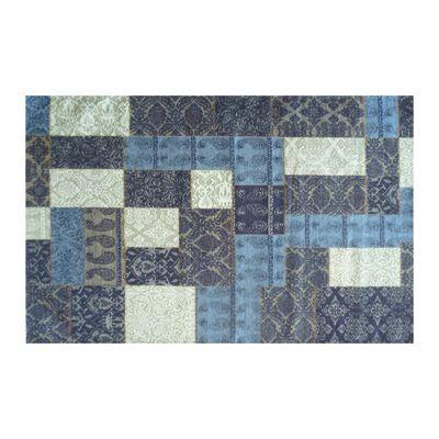 Tappeto modern kilim blu 160 x 230 cm prezzi e offerte online for Tappeti kilim leroy merlin